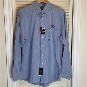 NWT Men's Chaps Classic Fit Oxford dress shirt